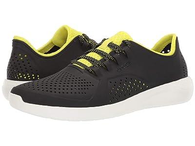 Crocs LiteRide Pacer (Black/Citrus) Men