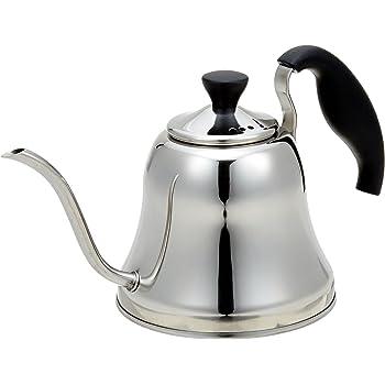 パール金属 コーヒー ドリップ ポット 1.1L IH対応 ステンレス カフェブレイク H-997