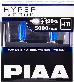 Piaa H11 Hyper ARROS Performance BULB-5000K, 2 Pack