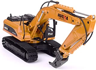 Alloy Scarifier Engineering Vehicle Model Toy Excavator 1:40 Adult Collection Construction Model Toy Gift