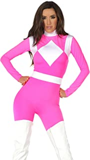 Forplay Women's Supreme Action Figure Catsuit with Belt