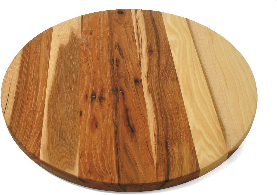 Max 70% OFF J.K. Adams 16-Inch Round Max 61% OFF Wood Susan Hickory Lazy