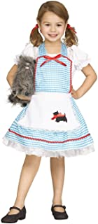 Kansas Cutie Fairytale Instant Smock Costume,One Size fits Most. Child Size 4-8