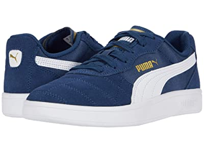 Puma Kids Astro Kick (Big Kid) (Dark Denim/White/Team Gold) Boy