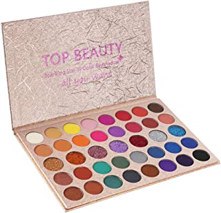 Eyeshadow Palette Makeup Matte Shimmer Metallic 40 Colors
