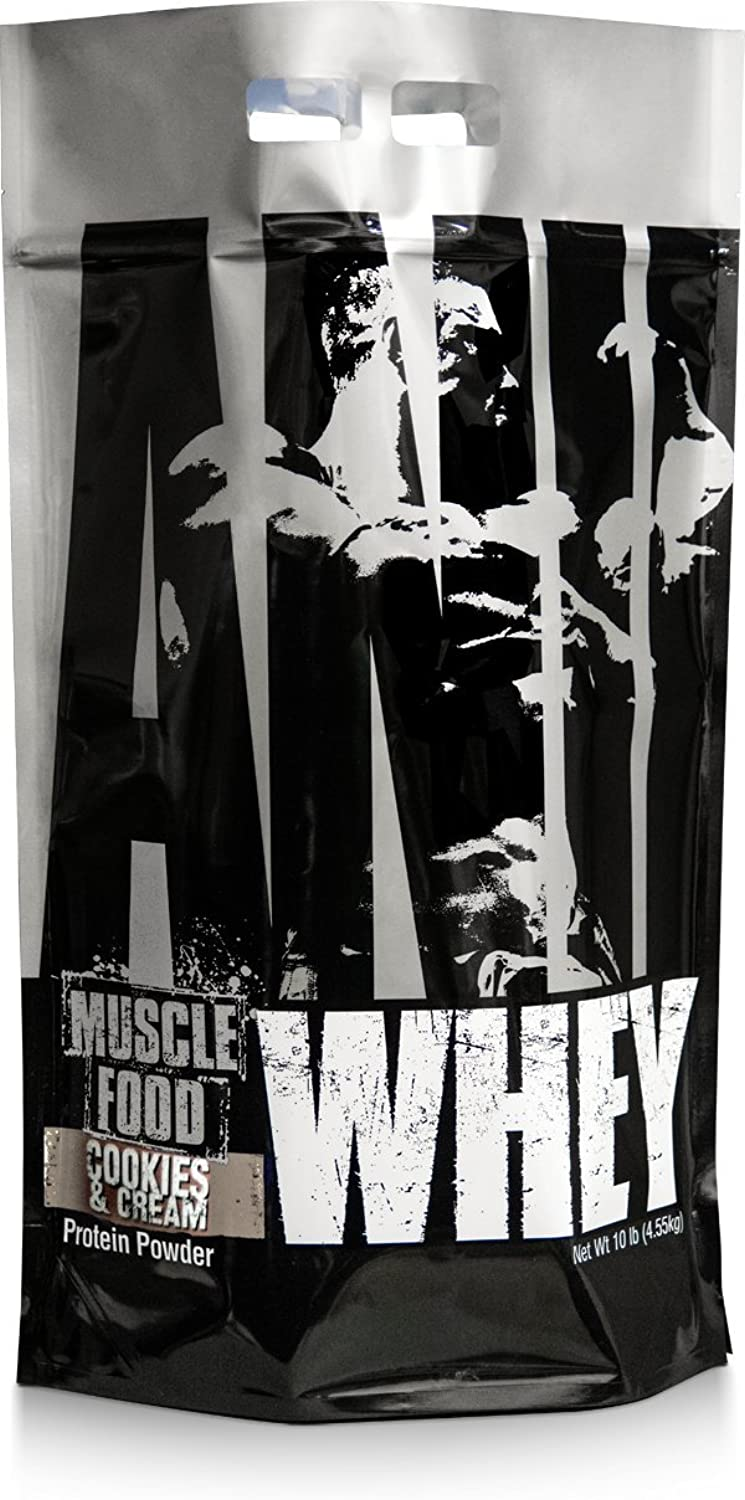 Universal Nutrition Animal Whey Isolate Loaded Whey Predein Powder Supplement, Cookies and Cream, 10 Pound