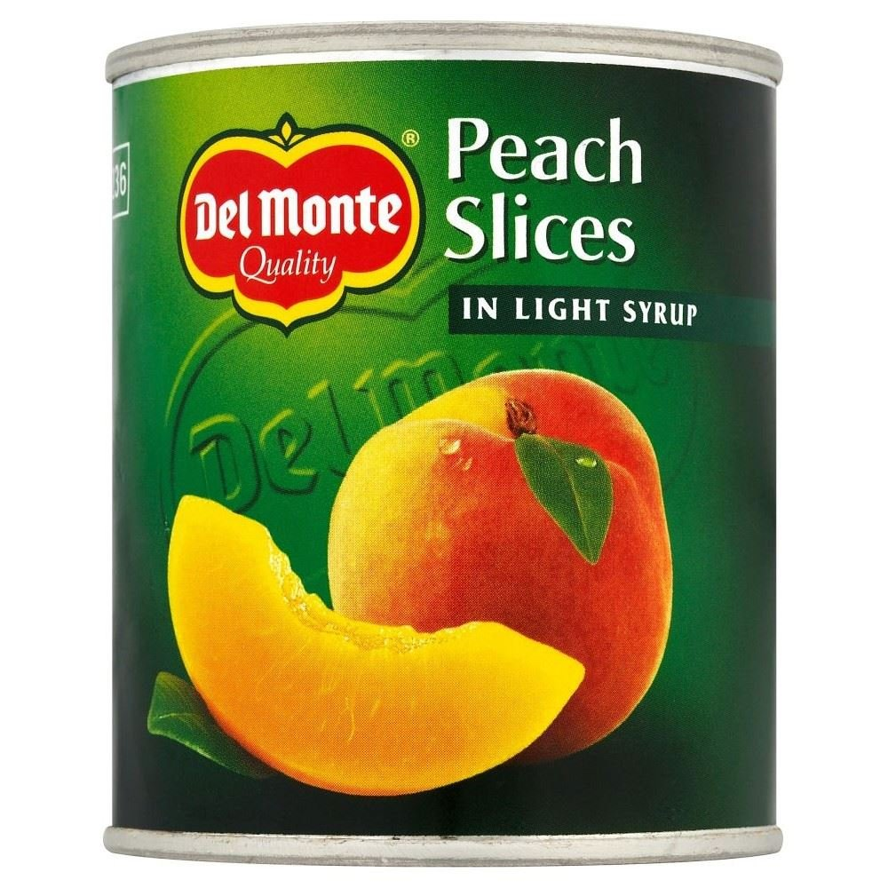 5 ☆ popular sale Del Monte Peach Slices in Syrup - 6 Pack of 227g