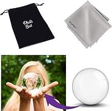 Photoball Original K9 Bola de Cristal para fotografía | Bola de Vidrio | Bola de Fotos con Bolsa de Transporte y paño de Limpieza de Microfibra DryFiber - 80mm