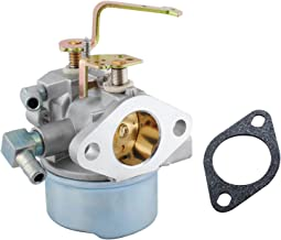 Wadoy Carburetor for Tecumseh 8-10 HP Engine Snow Blower Mower Generator, Compatible with Tecumseh 640152 640152A 640023 640051 640140 640152 640260B HM80 HM90 HM100