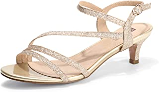 Best low heeled sandals Reviews