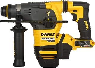 Dewalt DCH333NT-XJ XR Flex Volt SDS-Plus Bare Hammer, 1 W, 54 V, Yellow/Black, Unit, No Battery or Charger