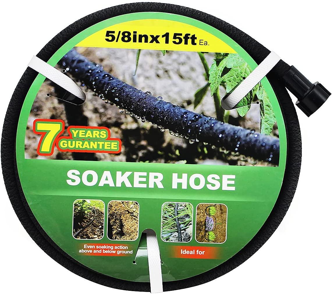 Soaker Max 83% OFF Hose 15ft price Lead Free Delivery 70%Water Saves Perfect