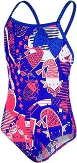 Speedo Shell Bell Bow Costume da Bagno Bambina