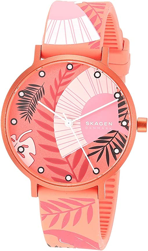 SKW2859 Coral Floral Print Silicone