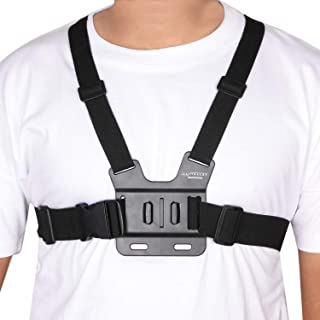 Yantralay Adjustable Chest Strap Mount Body Belt Harness Compaible with GoPro Hero 8/7/6/5, SJCAM, Yi & Other Action Cameras