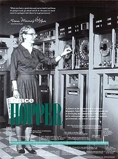 Grace Hopper Poster 18 x 24in