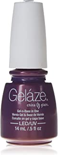 Gelaze Coconut Kiss Gel-N-Base Polish, 0.5 Fluid Ounce