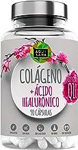 Colágeno + Ácido Hialurónico Coenzima Q10- Aquisana | Vitamina C | Aporta Firmeza y Elasticidad | Piel Radiante | Alérgenos: Pescado-90 Cápsulas