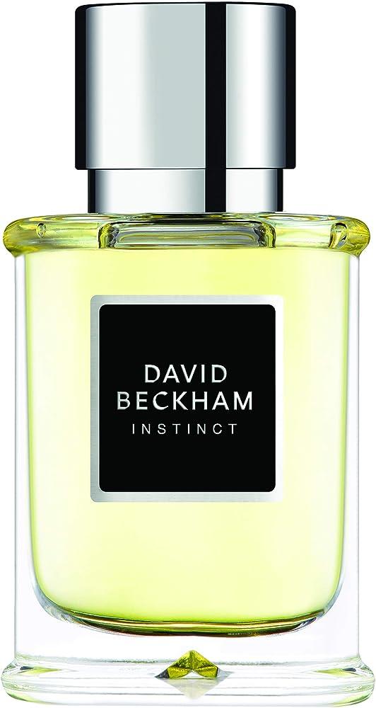 David beckham instinct , eau de toilette , profumo uomo , 75 ml 147235