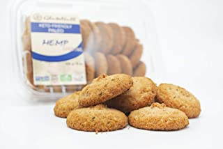 GluteNull Hemp Cookies - Keto Friendly, Low Carb, Paleo