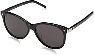 Marc Jacobs Women's Marc 82/F/S NR 807 57 Sunglasses, (Black/BRW Grey)