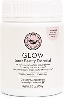 The Beauty Chef | Glow Inner Beauty Essential | Vegan Powder for Gut Health, Digestion, and Glowing Skin | with 18 Whole F...