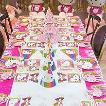 لوازم حفلات أعياد الميلاد عالية الجودة مجموعة أدوات مائدة للاستعمال مرة واحدة بتصميم كرتوني لوازم الحفلات دعائم الحفلات 16...