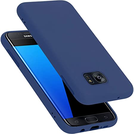 Cadorabo Hülle Für Samsung Galaxy S7 Edge In Liquid Elektronik