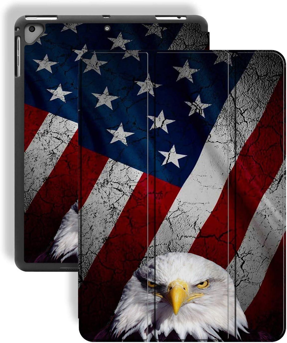 iPad 9.7 2018 2017 Air 2021 new 2 Eagle Discount mail order Case Patt Flag American Bald