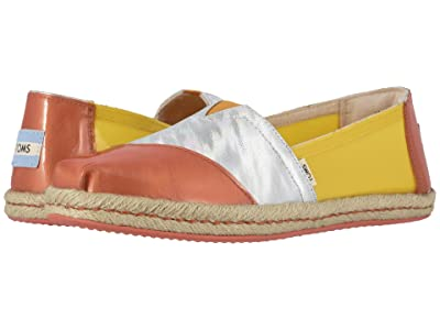 TOMS Alpargata on Rope (Gold Fusion Translucent TPU on Rope) Women