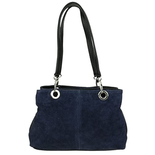 1496ab1dd0ad Girly HandBags Italian Suede Leather Shoulder Bag