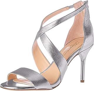 Imagine Vince Camuto Women's PASCAL2 Heeled Sandal, Platinum-1, 9.5 Medium US