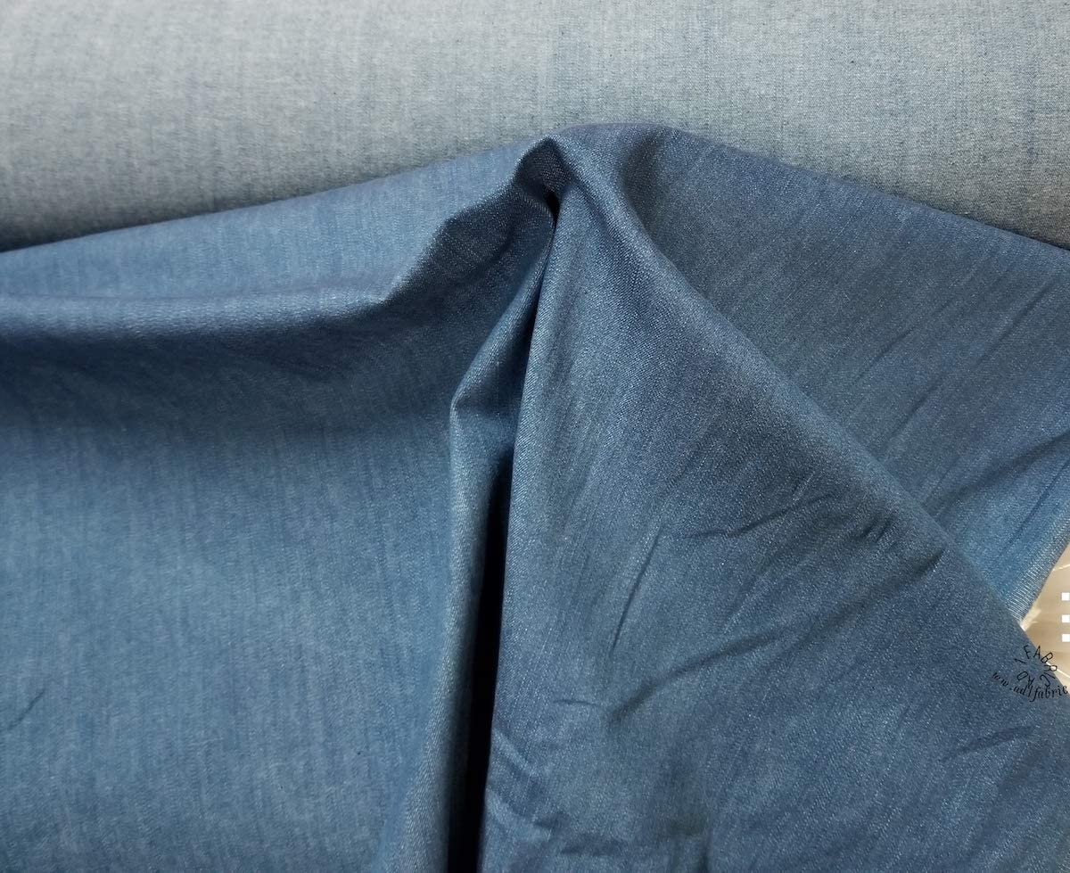 All items in the store Stretch Cotton Denim SALENEW very popular Fabric 2 Blue Way Stret
