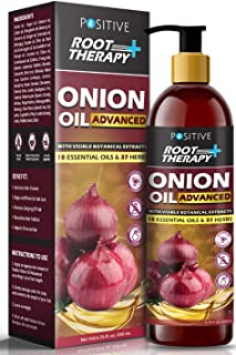Positive Root Therapy + Advanced Onion Oil For Hair Growth | Blend Of 18 Essential Oils & 37 Herbs & Redensyl, 200 ml
