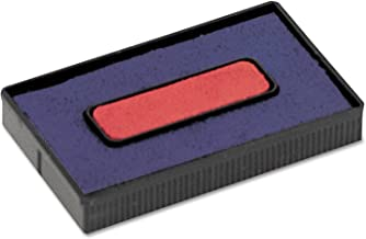 COSCO Felt Replacement Ink Pad for 2000 Plus Economy Message Dater, Red/Blue (COS061797)