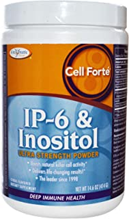 Enzymatic Therapy, Cell Forte, IP-6 & Inositol, Ultra Strength Powder, Citrus Flavored, 14.6 oz (414 g)