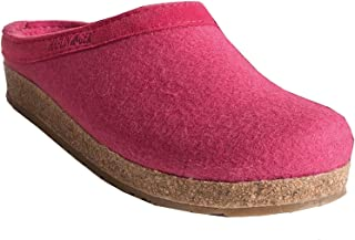 HAFLINGER Torben Grizzly, Chaussons Mules Femme