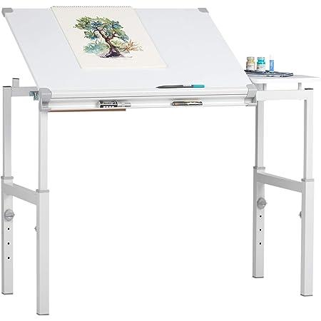STUDIO DESIGNS Graphix II Workstation - 24in x 36in White/Gray