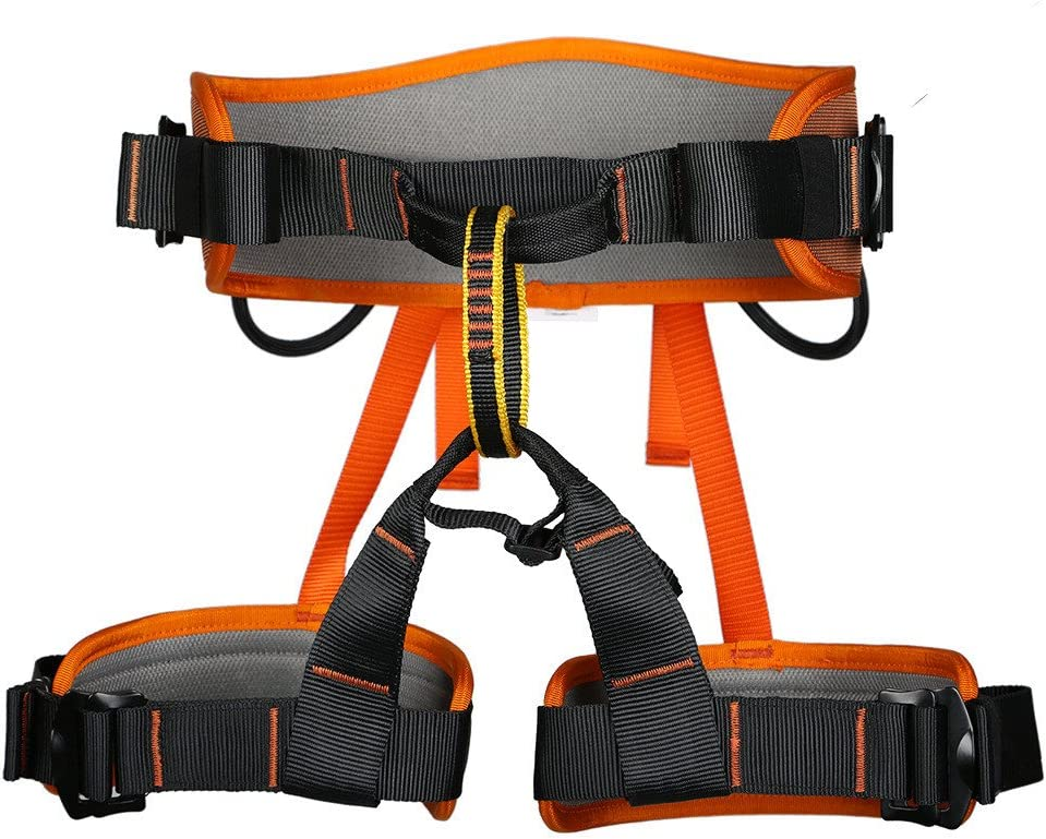 Details about  /Rescue Harness Seat Safety Sitting Caving Climbing Protective Equipment