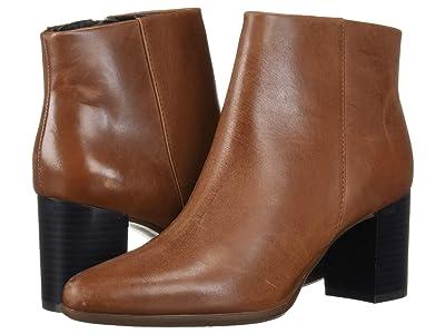 Rockport Camdyn Bootie (Cognac) Women