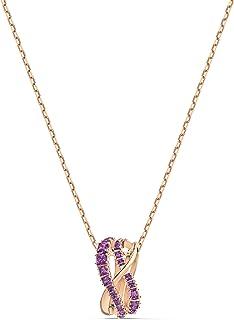 Swarovski Women's Twist Row Crystal Necklace Jewelry Collection