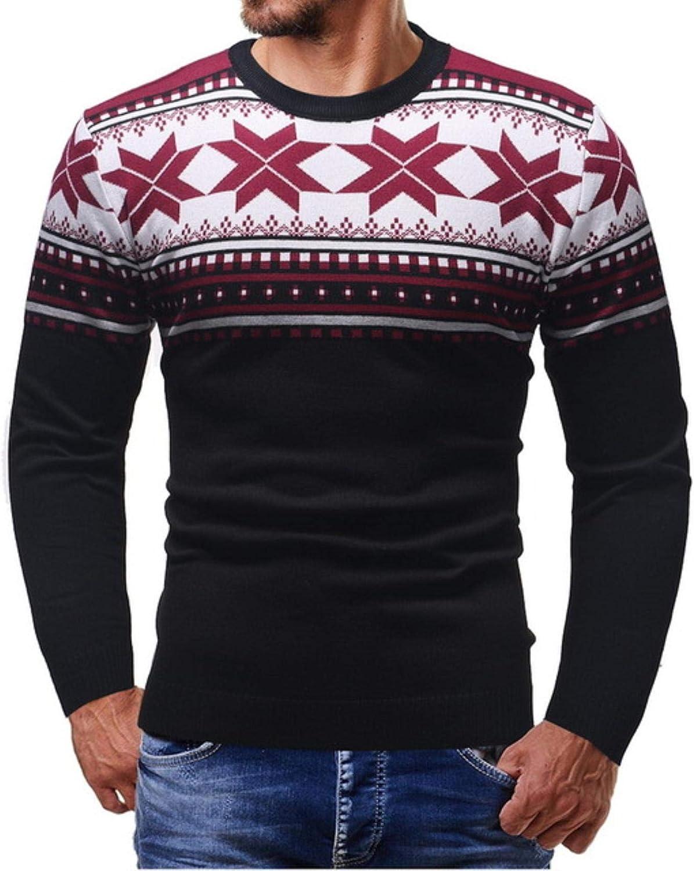 Thin Fashion Sweater Men Cardigan Slim Fit Jumper Pullover Warm Autumn Christmas