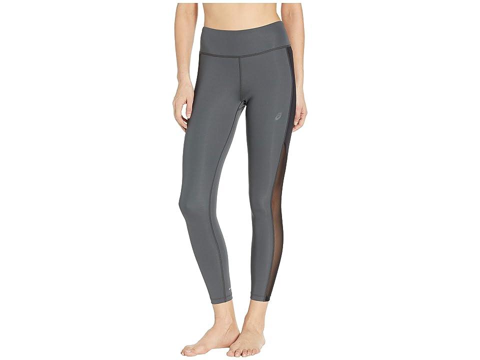 ASICS Crop Tights (Dark Grey/Performance Black) Women