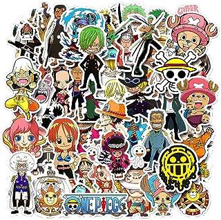 11thGear Anime One Piece 135 Adesivi Adesivi per Cellulare Auto Moto Laptop Bagagli Bicicletta Skateboard Frigo