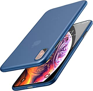 TOZO for iPhone Xs Max Case 6.5 Inch (2018) Ultra-Thin Hard Cover Slim Fit [0.35mm] World's Thinnest Protect Bumper for iP...