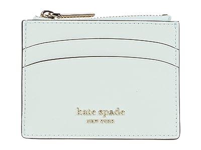 Kate Spade New York Spencer Coin Card Case (Crystal Blue) Handbags