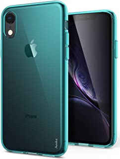 iPhone XR Case, Aeska Ultra [Slim Thin] Flexible TPU Soft Skin Silicone Protective Case Cover for Apple iPhone XR (6.1') (Mint)