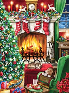 Cozy Christmas Jigsaw Puzzle 550 Piece