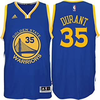 Kevin Durant Golden State Warriors #35 Blue Youth Road Swingman Jersey