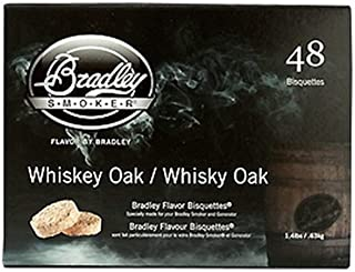 Bradley Technologies Whiskey Oak Special Edition Bisquettes (Pack of 48)